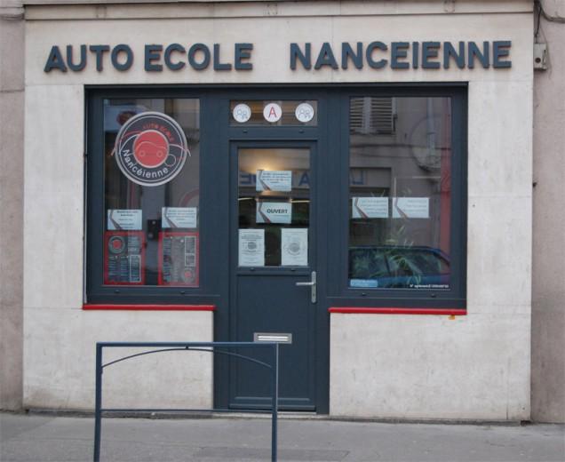 bureau (vue1) de l' Auto-école nancéienne (nancy 54 -quartier 3 maisons) - permis de conduite, conduite accompagnée (AAC), code de la route