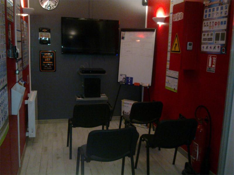 Salle de code vue 2 - auto-école nancéienne (nancy 54 -quartier 3 maisons) - permis de conduire